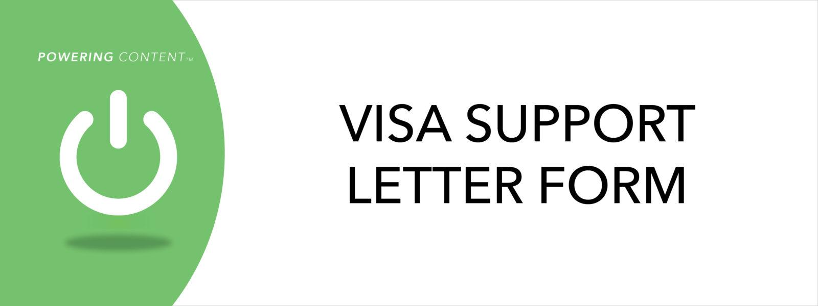 Budapest Visa Support Letter Form